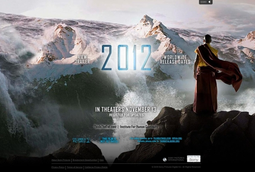 Poster for the 2009 film 2012